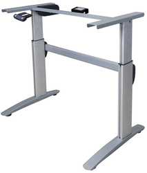 Deluxe, High Tech motorized Sit/Stand Desk Frame